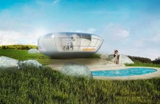 Inside the futuristic pop-up home that can be set up anywhere