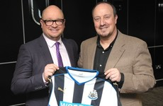 Rafa's back! Newcastle call in Benitez to save them from relegation