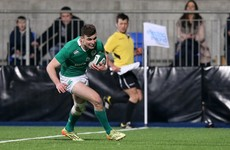 Daly's try decisive as Ireland U20s earn second Six Nations win against Italy