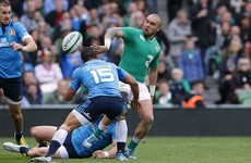 Flickers of sunshine rugby as Ireland end winless run with nine-try demolition of Italy