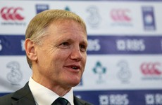 Joe Schmidt glad to see Ireland open up