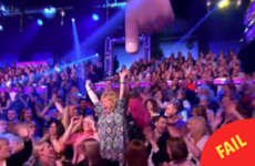 A woman absolutely mortified herself on Saturday Night Takeaway last night