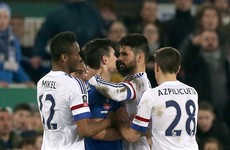 Costa denies biting Gareth Barry as FA reveals they're waiting on referee's report