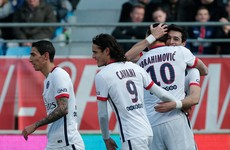 With eight games to go, PSG have won the French championship after superb nine-goal rout