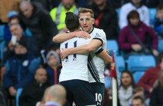Harry Kane's double sinks Villa and lifts Tottenham to within 2 points of Leicester