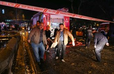 Ankara bombing: 37 confirmed dead after blast at busy transport hub