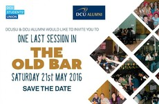 DCU is hosting an epic session to bid farewell to its campus bar