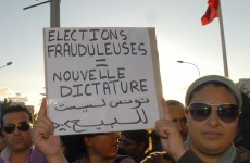 Clashes erupt as moderate Islamists win Tunisia elections