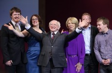 Poet, politician and the ninth President of Ireland: Michael D Higgins