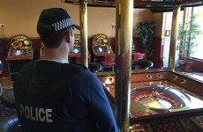 Gambling machines seized as part of busts on illegal casinos