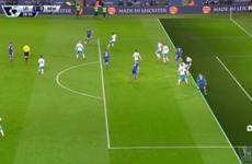8 games from history! Title chasers Leicester prevail again thanks to 'offside' goal