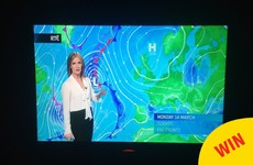 RTÉ's new weather lady just dropped a Simpsons reference into her report