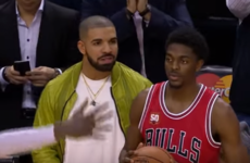 Drake trash-talked the Chicago Bulls guard to cause a 5-second violation last night