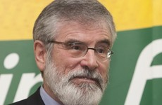 Sinn Féin doesn't fancy government, but thinks the other two should 'end the sham'