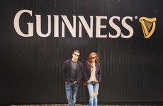 Nick Lachey has been spotted having the craic in Dublin before Paddy's Day… it's the Dredge
