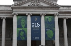 Dublin City Council is standing by its controversial 1916 banner