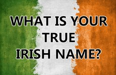 What Is Your True Irish Name?