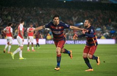 As it happened: Barcelona v Arsenal, Champions League