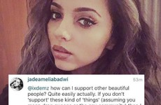 Little Mix's Jade excellently shut down a homophobic Instagram commenter