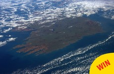 This astronaut just took a gorgeous photo of Ireland from space to celebrate Paddy's Day
