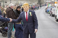 Donald Trump was the main man at the parades this year