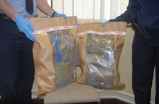 Two men arrested as €110k-worth of cannabis is seized