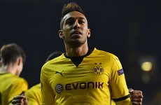 Aubameyang on the double as Spurs bow out with a whimper