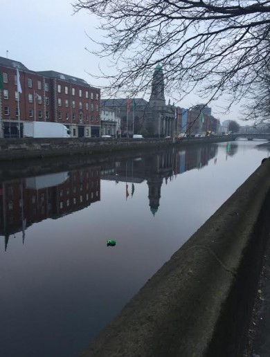 This sad Dublin sight sums up the whole country this morning