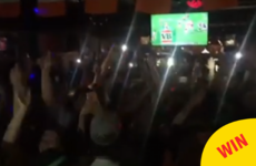 Mark McCabe played Maniac 2000 in this Sydney pub on Paddy's night and it was a riot