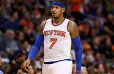 Carmelo Anthony is starting to sound restless, and the Knicks are about to hit a crossroads