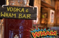This Dublin bar's Wham! vodka shots will take you back to your childhood