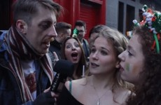 Watch the most cynical Irish guy ever interview Paddy's Day visitors