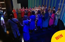 This Dublin ukulele band were class on The Ray D'Arcy Show last night