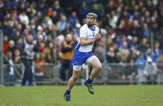 Brilliant to see Pauric Mahony back for Waterford 10 months after breaking his shin