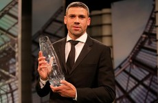 Jon Walters named Ireland's senior international player of the year