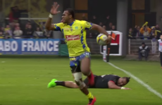 Clermont's newest flying Fijian, 21-year-old Raka, ripped Toulouse apart