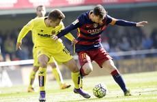 Woman suffers broken arm after being struck by Messi's ferocious shot