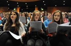 Massive concert to mark 1916: 1,100 singers from 32 choirs join forces with RTÉ orchestra