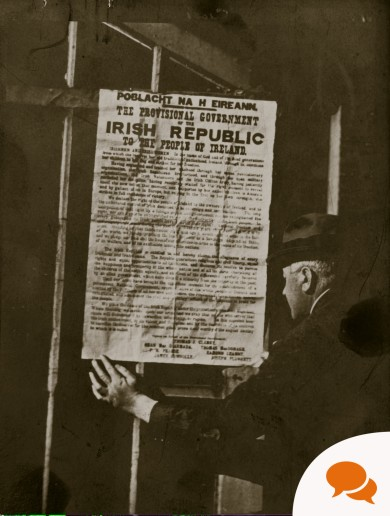 Voices of 1916: 'I knew it meant war - but I was honoured to print the Proclamation'