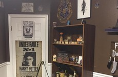 These parents created an amazing Harry Potter themed nursery