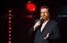 Frankie Boyle said Dublin would be sober on Good Friday and Irish people corrected him