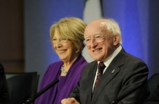 Higgins welcomed by 5,000 supporters in Galway