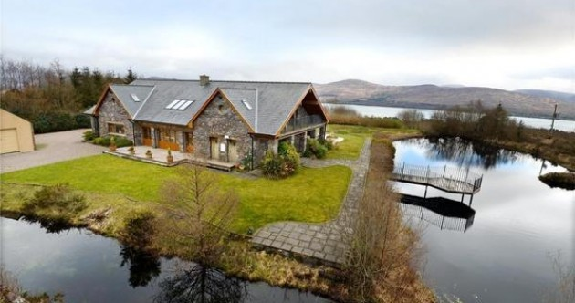 Stunning mountain and lake views are just some of the highlights of this Kerry home