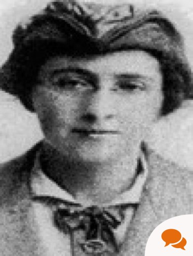 This Irish rebel smuggled bomb detonators under her coat and often dressed as a boy