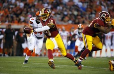 Is RGIII the answer to the Browns' 14 years of quarterback troubles?