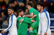 Jack Byrne's free-kick sets up opening goal for Ireland U21s against Italy