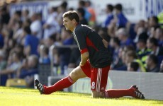 Surprise! Gerrard's injured again