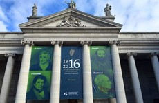 Activists draw over John Redmond's face on controversial College Green banner