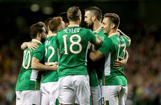 Clark header sees Ireland's Euro 2016 hopefuls dig out Swiss win