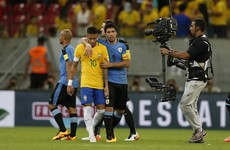 Suarez back with a bang on his international return to deny Brazil World Cup qualifier win